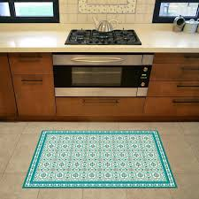 vinyl outdoor rugs turquoise vinyl floor mat with decorative tiles pattern area rug kitchen rug printed