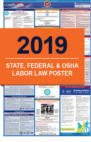 2019 Labor Law Posters All In One State Federal
