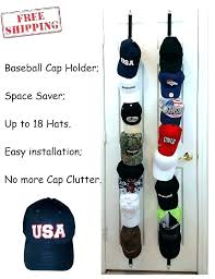 baseball hat rack wall mount hangers for holder cap organizer closet over the door hanger antique