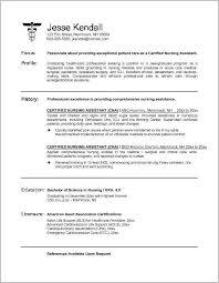 Cna Cover Letter Samples No Experience Cover Letter Resume