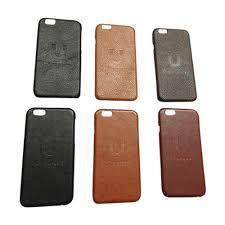 custom leather hard iphone cases emboss