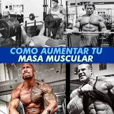 cómo aumentar masa muscular naturalmente la guía definitiva para crear músculo