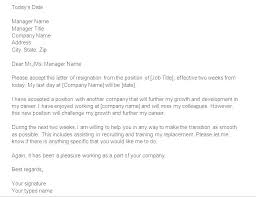One Week Notice Resignation Letter Short Resignation Notice To Quit Job Template Day Employer
