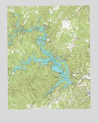 Philpott Lake Depth Chart Philpott Lake Va Topographic Map Topoquest