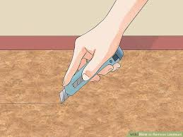 image titled remove linoleum step 2