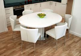 expandable round dining table. Contemporary Expandable Round Dining Table