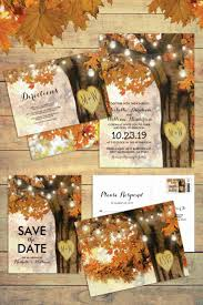 best 25 fall wedding invitations ideas only on pinterest maroon Diy Wedding Invitations Fall Theme rustic autumn fall tree wedding invitation suite fallwedding Fall Color Wedding Invitations