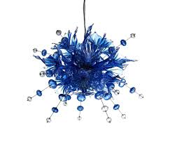 ulus 120 chandelier blue by bsweden suspended lights