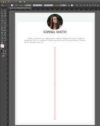 Adobe Illustrator Tutorial How To Create An Impressive Cv