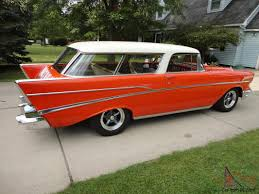 Chevrolet Chevy Nomad Bel Air 2 Door Wagon