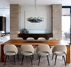 modern wood dining room sets: overlooking english bay with vistas of ubc and vancouver island this west vancouver bc