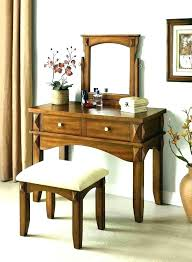 wood makeup vanity solid wood makeup vanity oak bedroom vanity bedroom vanity set with mirror rustic