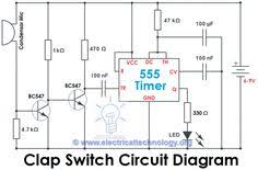 water softener power indicator schematic ne 555 circuits water clap switch circuit using ic 555 timer out timer electronic project