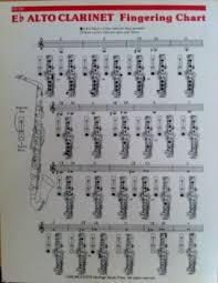 E Flat Alto Clarinet Finger Chart Eb Alto Clarinet Fingering Chart