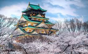 Osaka Castle In Japan Hd Wallpaper Hintergrund 1920x1200