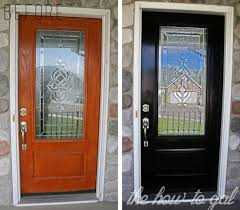 how to paint your front doorthe how to gal how to paint your front door with diy they design
