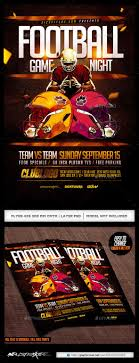 best images about flyer design templates psd football game night flyer template
