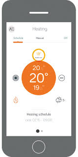 Image of the Hive Active Heating App