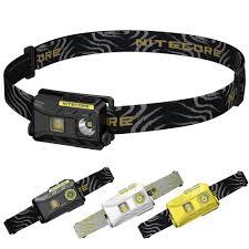 Sale <b>Nitecore NU25</b> Rechargeable Headlamp 360 Lumens 3x <b>LED</b> ...