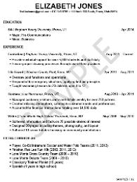 Student Resume Samples Jmckell Com