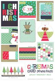 Free Printable Christmas Card Templates For Photos L