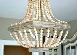 medium size of wood bead chandelier metal with beads target wooden restoration hardware diy woo home
