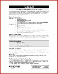 Create Job Resume Job Resume Examples Good Resume Format 15
