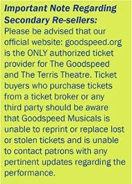 Official Site Of Goodspeed Musicals Shows Tickets