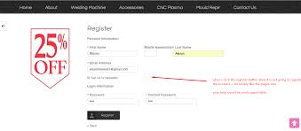 New Customer Account Form Magento 1 9 3 6 New Customer Account Form Not Working Magento