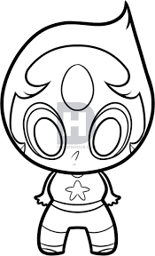 Steven Universe Pearl Drawing Get Coloring Pages