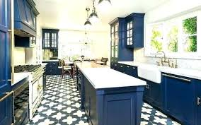 blue kitchen floor tiles white and brass in hills ranch love patterned wall uk