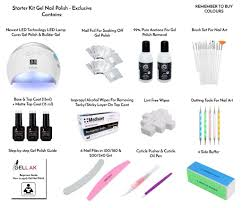Starter Kit Gel Nail Polish - EXCLUSIVE – Gellak.co.uk