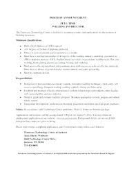 Welder Resume Sample Welding Resume Template Sample Resume For