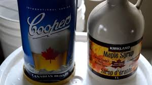 beginners guide to brewing coopers canadian blonde and the great maple syrup fail you