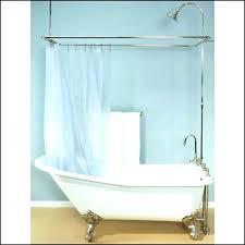clawfoot tub enclosure kit tubs shower enclosures awesome tub shower enclosure about claw tub shower tub clawfoot tub enclosure
