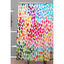 deny shower curtains deny designs aquios shower curtain target