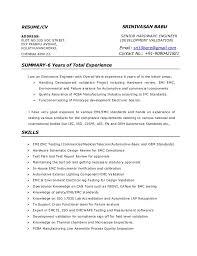 RESUME/CV SRINIVASAN BABU ADDRESS: PLOT NO.320 VOC STREET, SENIOR HARDWARE  ...