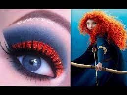 disney s brave merida makeup tutorial