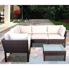 modern outdoor sectional. Modern Outdoor Sectional Malibu Patio Sofa Set Consists Of A Cozy With . E
