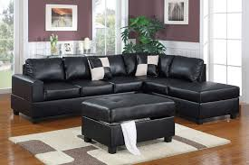 black leather couches. Contemporary Black With Black Leather Couches 2