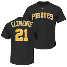 Roberto T-shirt Pittsburgh Pirates Clemente Number And Name|Football Graphics Make A Room Very Friendly And Are Fun