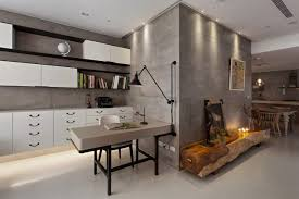 contemporary office interiors. Contemporary Office Interiors Winnipeg Admirable Concrete Walls In Modern