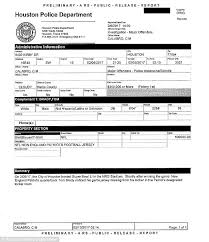 Hpd Police Report