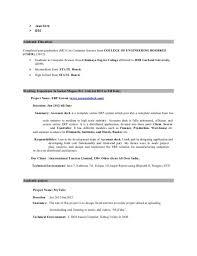 java developer resume. Resume For Java Developer