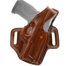 Galco Fletch High Ride Belt Slide Holster Fits Glock 43 43x Right Hand Leather Tan