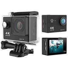 Camera Hành Trình Thể Thao 4K - Camera Phượt Xe Máy 4K Ultra HD Wifi Chống  Nước