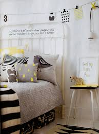 the modern ba grey yellow gender neutral kids bedroom love pertaining to amazing house childrens modern bedding ideas
