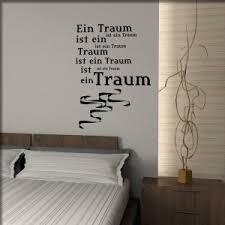 Wandtattoos Shop Wandworte Traum Wandzitate Spruch Schlafzimmer