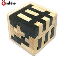 Wooden Games For Adults Inspiration Onshine 32D Wooden Brain Teaser Jigsaw Puzzle Games For Adults T