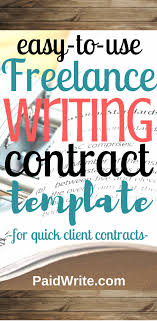 The 7-Step Customizable Freelance Writing Contract Template